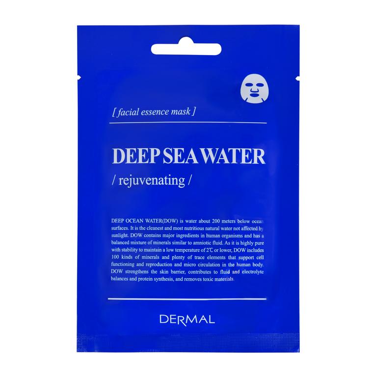 Korejska sheet maska sa morskom vodom za regeneraciju kože lica DERMAL Encyclopedia Rejuvenating 25g