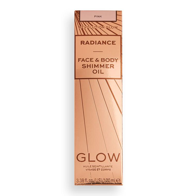 Suvo ulje u spreju za iluminaciju lica i tela REVOLUTION MAKEUP Pink Glow Radiance 100ml