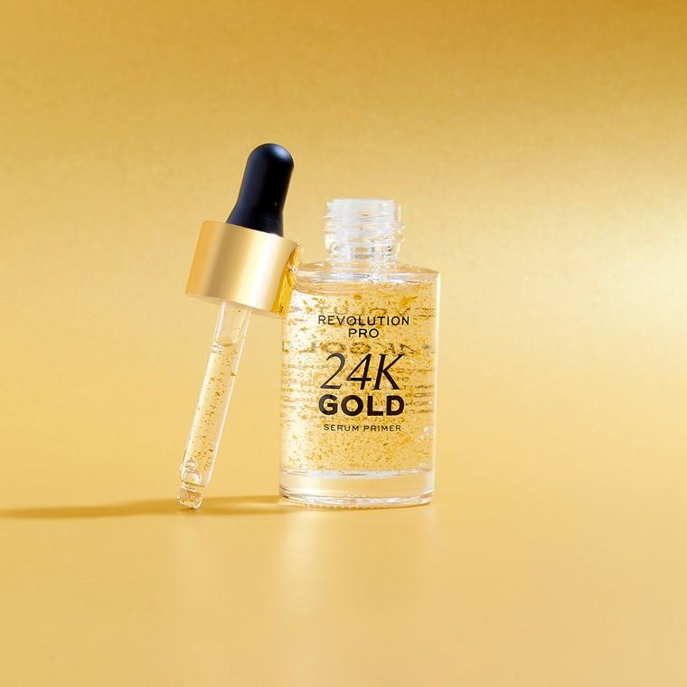 Hidratantni prajmer serum za lice REVOLUTION PRO 24k Gold 28ml
