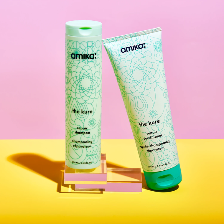 Šampon bez sulfata za obnavljanje kose AMIKA The Kure Repair 300ml
