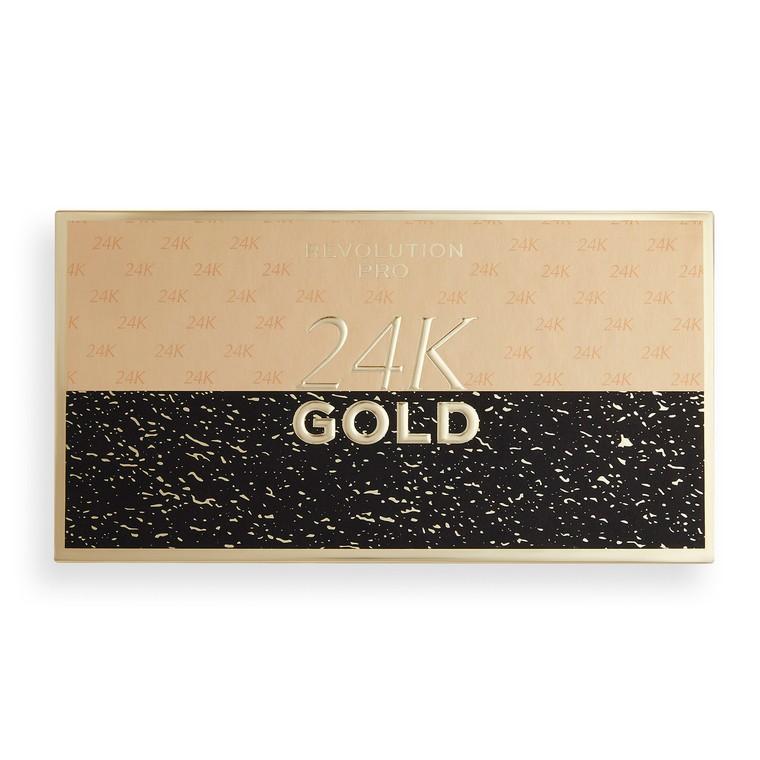 Paleta senki i pigmenata REVOLUTION PRO 24k Gold 18g