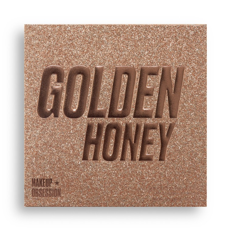 Paleta senki i pigmenata MAKEUP OBSESSION Golden Honey 20.8g