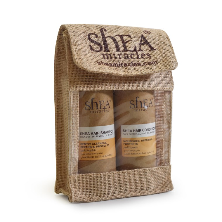 Set šampon i balzam za rekonstrukciju kose SHEA MIRACLES Šea puter 2x300ml