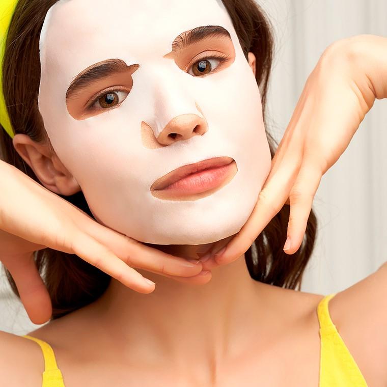 Sheet maska za zatezanje i vitalnost kože lica 7DAYS My Beauty Week Cheerful Tuesday 28g
