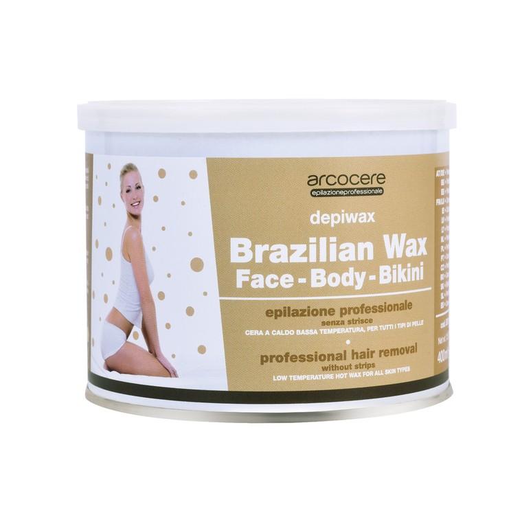 Vosak za toplu depilaciju osetljivih delova tela ARCO COSMETICI Brasilian Wax 400ml