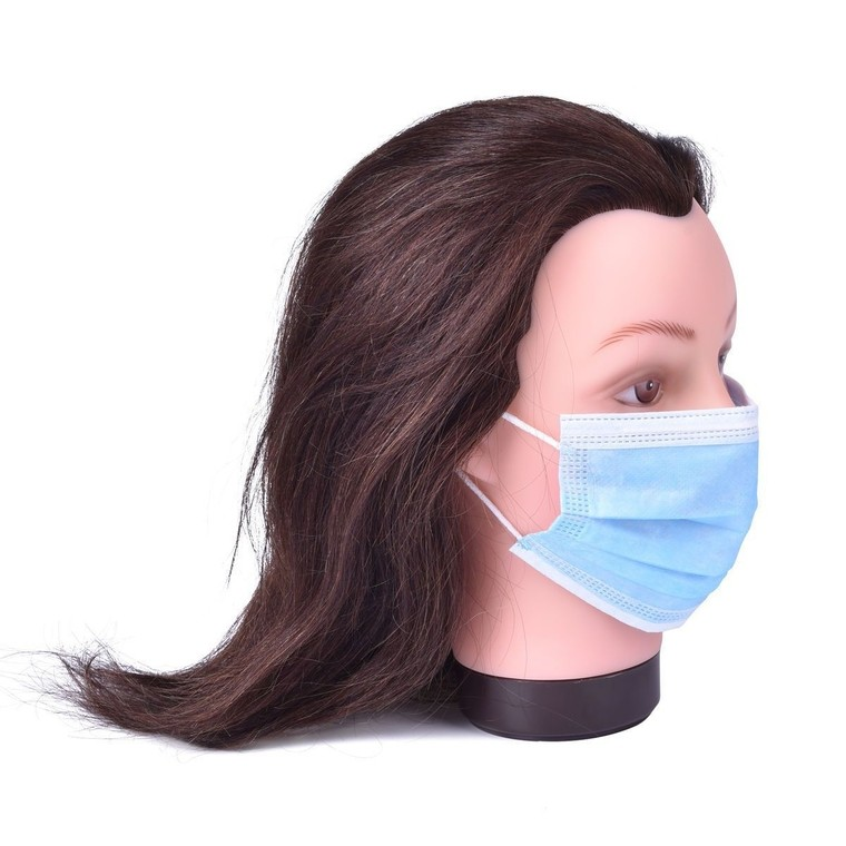 Troslojna zaštitna maska za lice PL01 SPA NATURAL 1/1