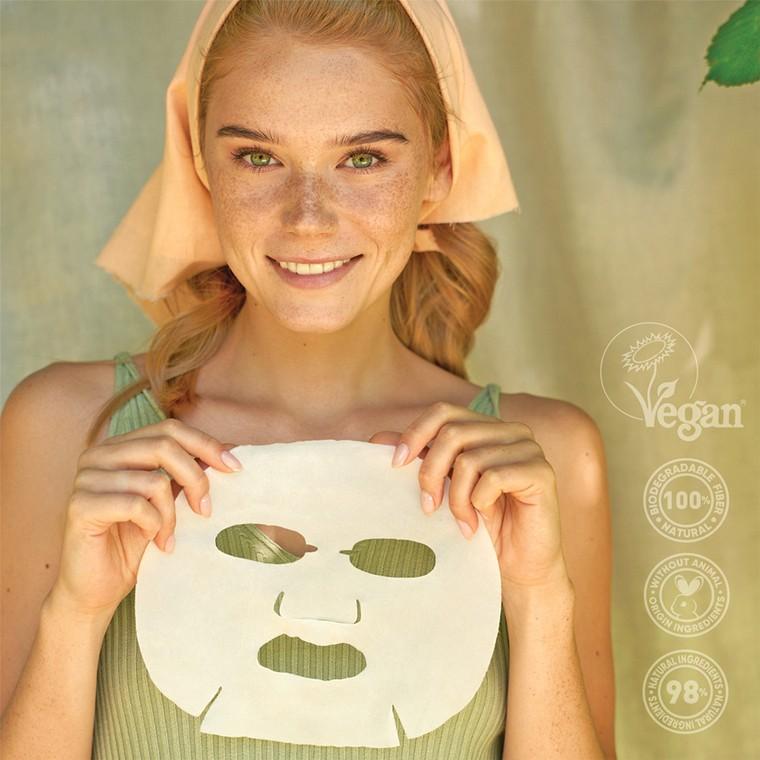 Sheet maska za ujednačavanje tena 7DAYS Go Vegan Red Day 25g