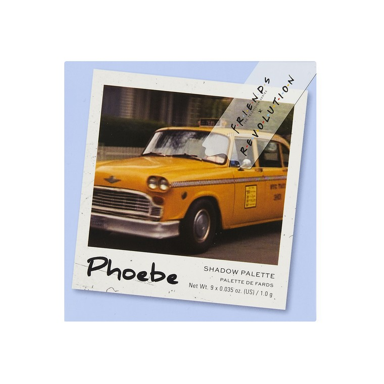 Paleta senki i pigmenata REVOLUTION MAKEUP Friends Phoebe 9g