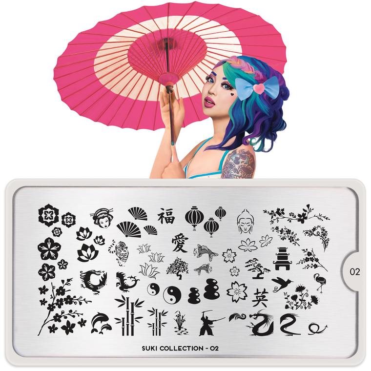 Šablon za pečate MOYOU Suki 02