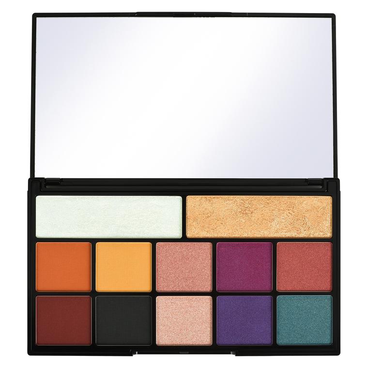Paleta za šminkanje REVOLUTION MAKEUP X Carmi Kiss Of Fire Palette