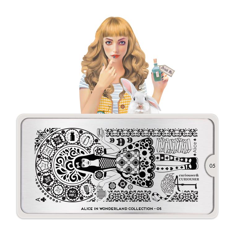 Šablon za pečate MOYOU Alice 05