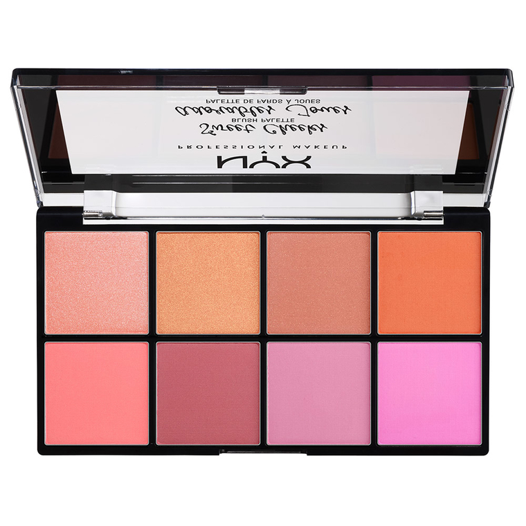 Sweet Cheeks Blush Palette NYX Professional Makeup SCBP01 8x4g