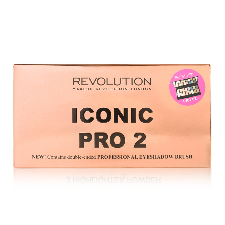 Eyeshadow Palette REVOLUTION MAKEUP Iconic Pro 2 Palette 16g