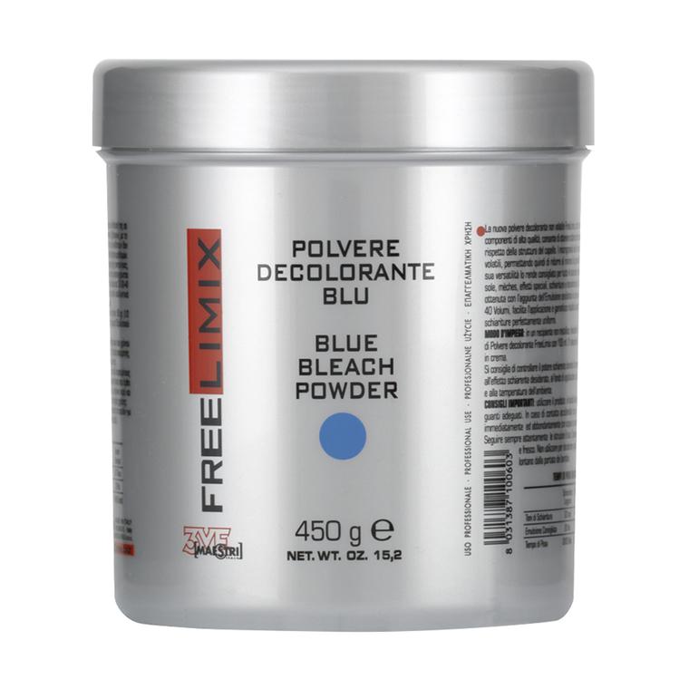 Plavi blanš za kosu FREE LIMIX 450g