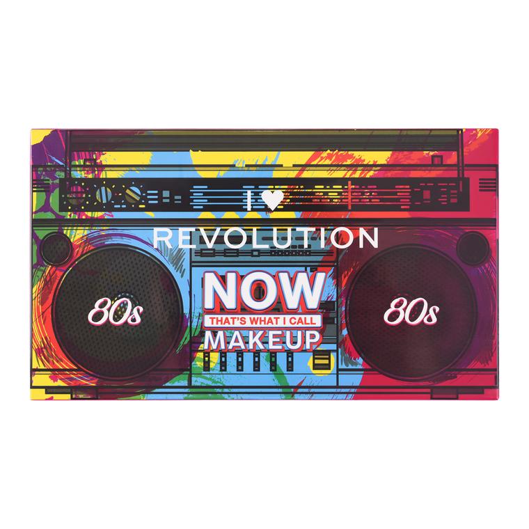Paleta pigmenata za oči I HEART REVOLUTION 80s Now Thats What I Call Makeup 13.5g