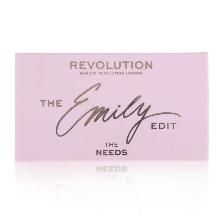 Paleta za šminkanje REVOLUTION MAKEUP The Emily Edit - The Needs 13.2g