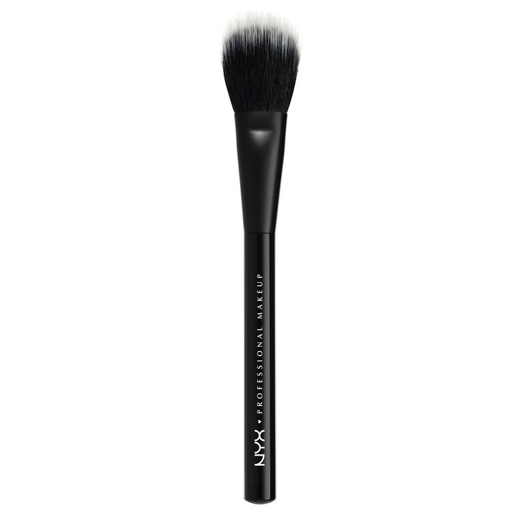 Četkica za puder i rumenilo NYX Professional Makeup PROB08 prirodna i sintetička dlaka