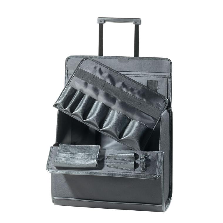 Kofer za frizerski pribor COMAIR Crni 42x23x37cm