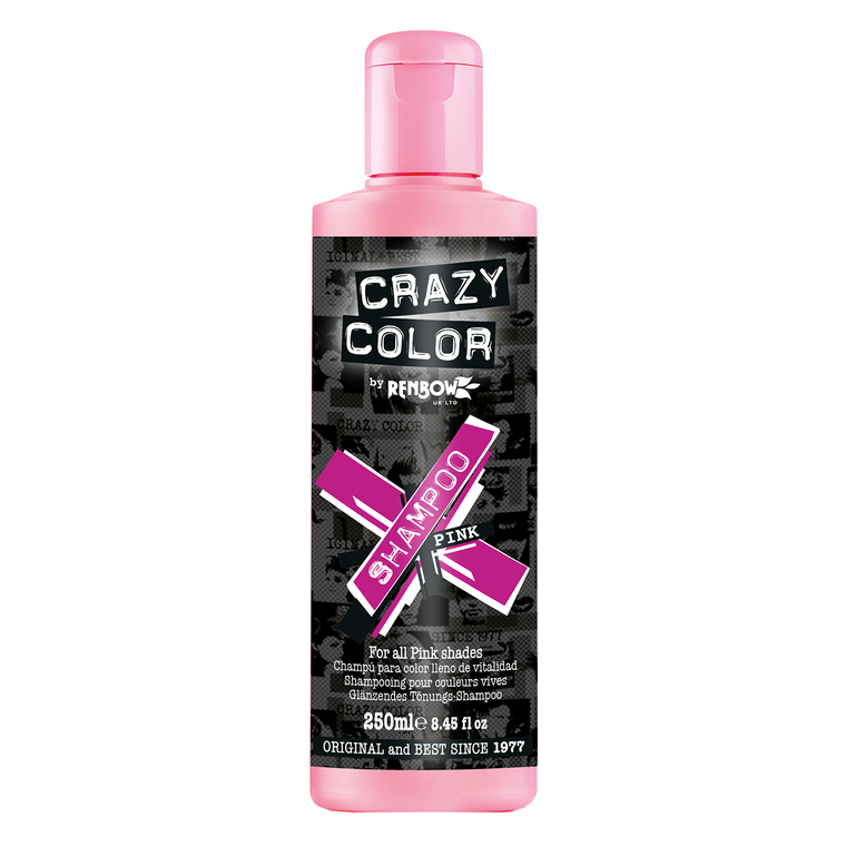Šampon za farbanu kosu bez sulfata CRAZY COLOR Pink 250ml