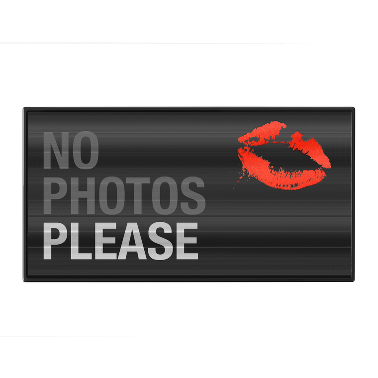 Paleta senki za oči I HEART REVOLUTION No Photos Please 9g