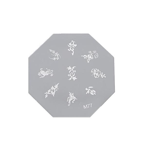 Šablon disk za pečate osmougaoni ASN M77