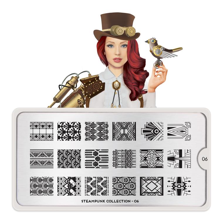 Šablon za pečate MOYOU Steampunk 06