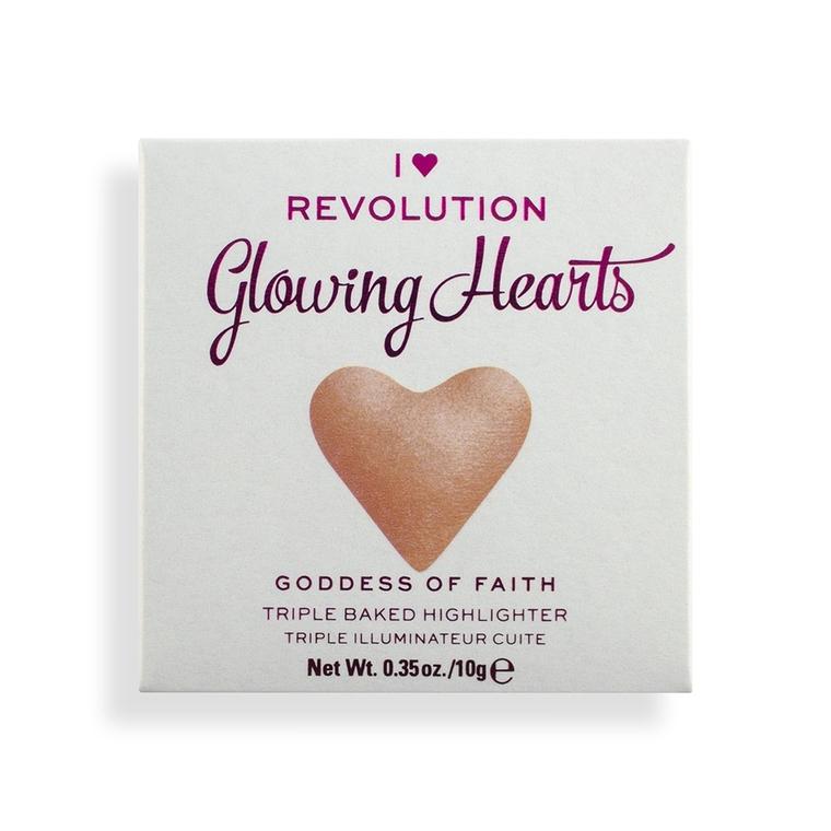 Hajlajter I HEART REVOLUTION Glowing Hearts Goddess of Faith 10g