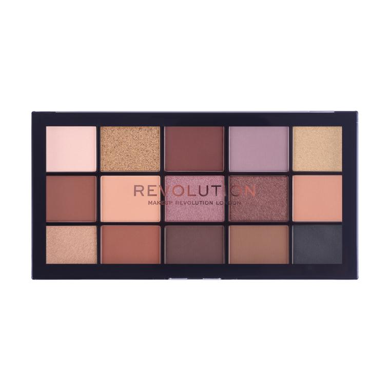 Paleta senki za oči REVOLUTION MAKEUP Reloaded Velvet Rose 16.5g