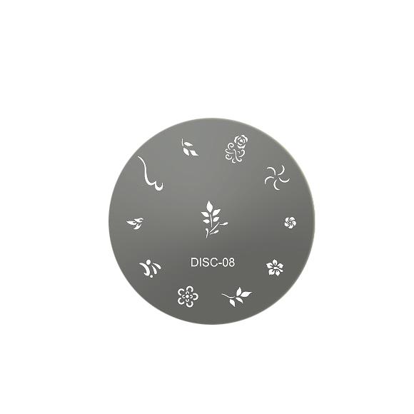 Šablon disk za pečate DISC 08