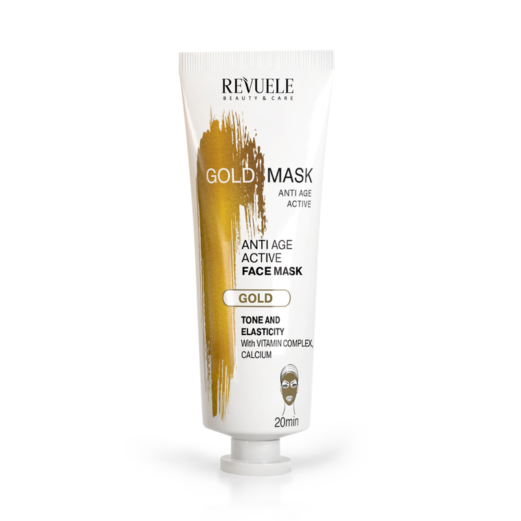 Anti-Age Gold Face Mask REVUELE Lifting Effect 80ml