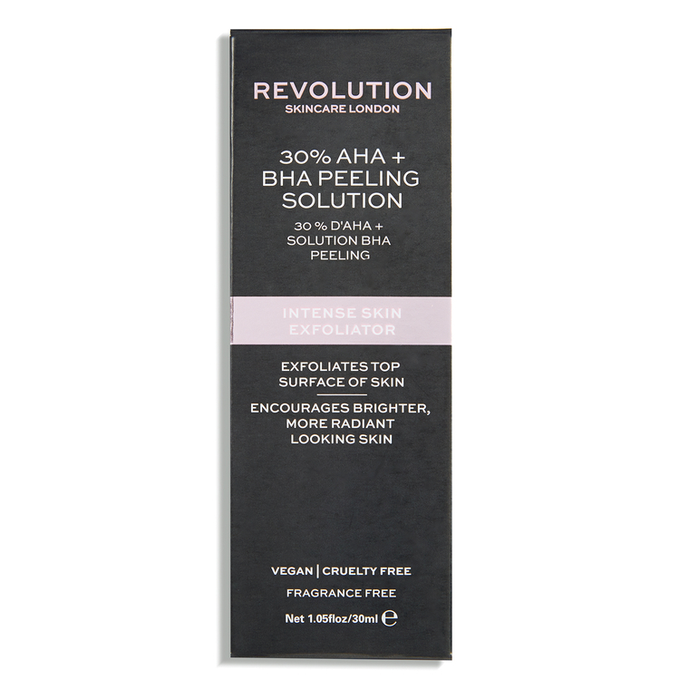 Intenzivni tečni piling REVOLUTION SKINCARE 30% rastvor AHA BHA kiselina 30ml