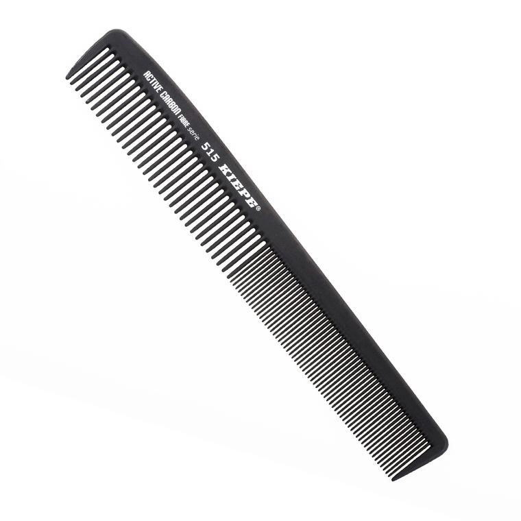 Češalj za kosu antistatički KIEPE Active Carbon 515 Crni