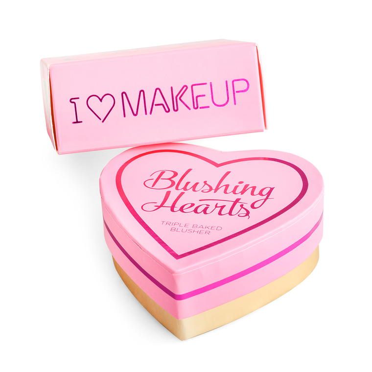 Blusher I HEART REVOLUTION Blushing Hearts Peachy Keen Heart 10g