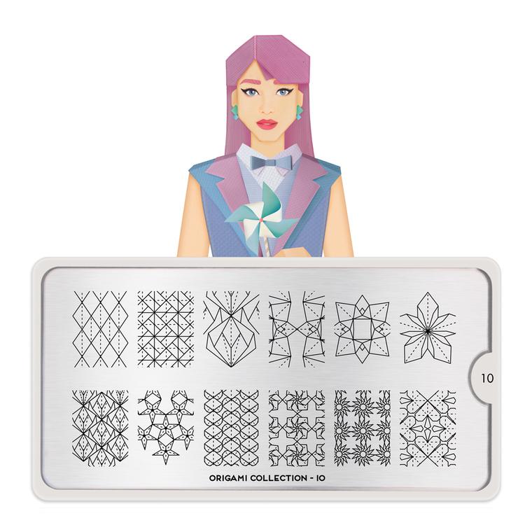Šablon za pečate MOYOU Origami 10