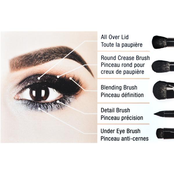 Set četkica za šminkanje NYX Professional Makeup BSET06 5/1