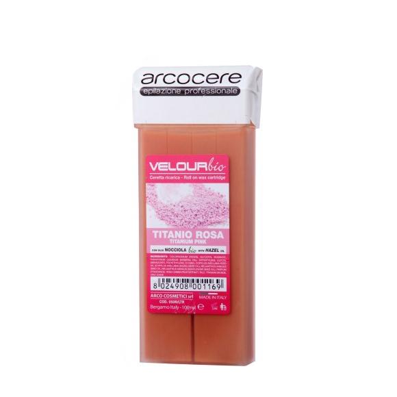 Vosak za depilaciju u patroni ARCO Titanijum Pink 100ml