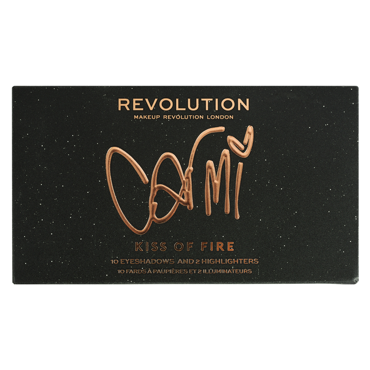Paleta za šminkanje REVOLUTION MAKEUP X Carmi Kiss Of Fire Palette