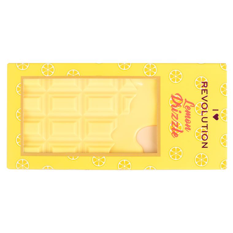 Paleta senki za oči I HEART REVOLUTION Chocolate Lemon Drizzle 20g