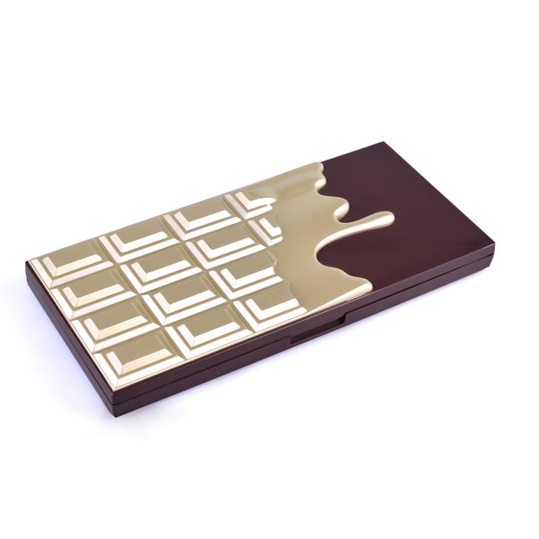 Paleta senki za oči I HEART REVOLUTION Chocolate Golden Bar 22g