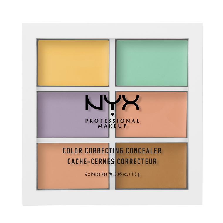 Paleta korektora NYX Professional Makeup Color Correcting 3CP04 6x1,5g
