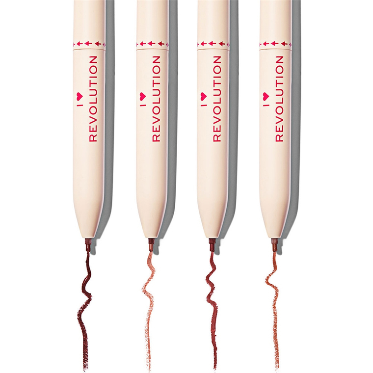 Retractable Multi Lipliner I HEART REVOLUTION Nudes 0.4g