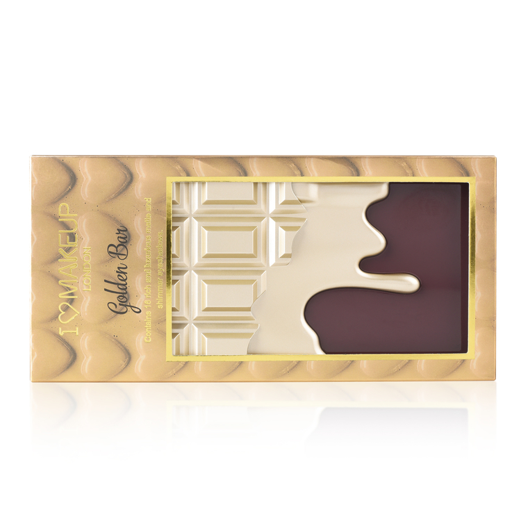 Paleta senki za oči I HEART REVOLUTION Chocolate Golden Bar 22g