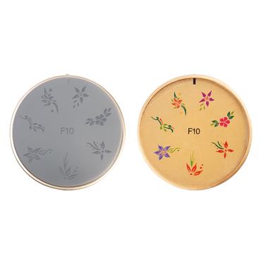 Šablon silikonski za Nail Art F10