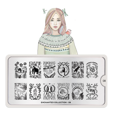 Šablon za pečate MOYOU Enchanted 08