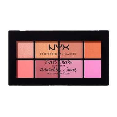 Sweet Cheeks Blush Palette NYX Professional Makeup SCBP01 8x4g