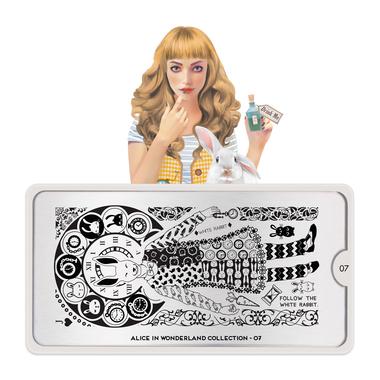 Šablon za pečate MOYOU Alice 07
