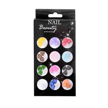 Colourful Style Nail Art Heart AN07