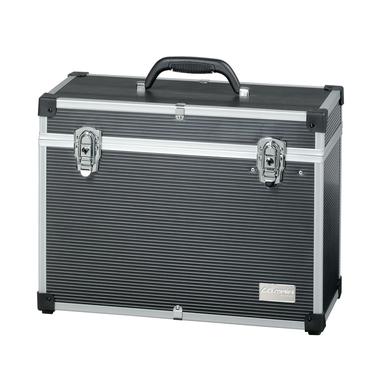 Kofer za frizerski pribor aluminijumski COMAIR Crni 45x20x34cm