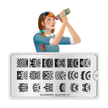 Šablon za pečate MOYOUt Kaleidoscope 10