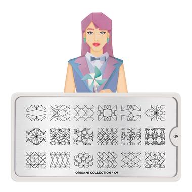 Šablon za pečate MOYOU Origami 09
